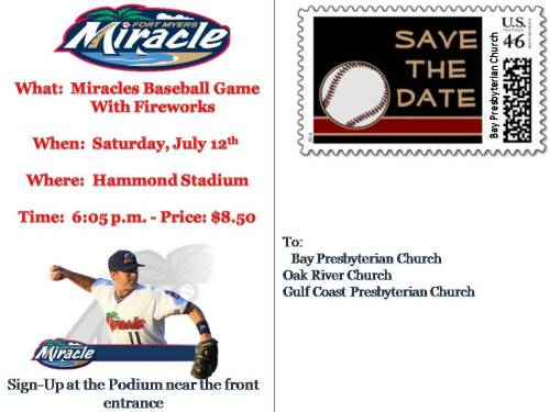 Miracle Game July 12 2014
