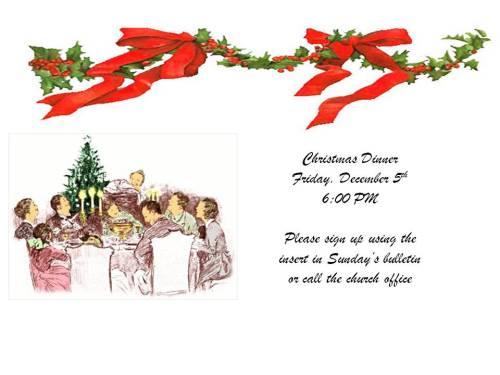 Christmas Dinner 141205