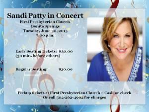 Sandi Patty concert 2015