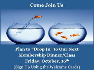 Membership DinnerClass 151016