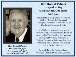 Robert Palmer Fall 2015