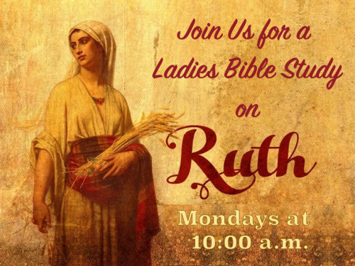 Ladies Bible Study on Ruth